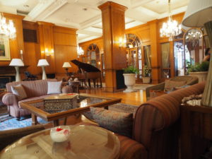 Reception area of Wildflower Hall