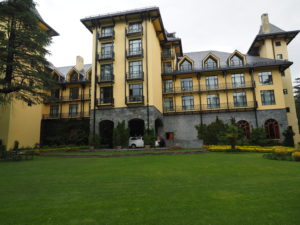 Wildflower Hall main building